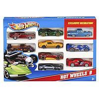 Hot Wheels 54886 Хот Вилс Подарочный набор из 10 машинок в ассортименте