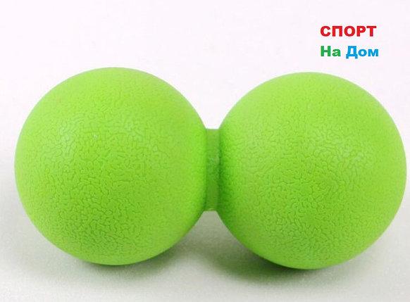 Массажный мячик для фитнеса Massage Ball (цвет зеленый), фото 2