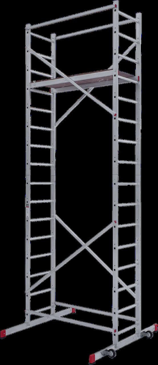 Вышка-тура алюминиевая 5,16 м усиленная