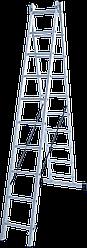 Лестница двухсекционная 2х10
