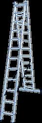 Лестница двухсекционная 2х13