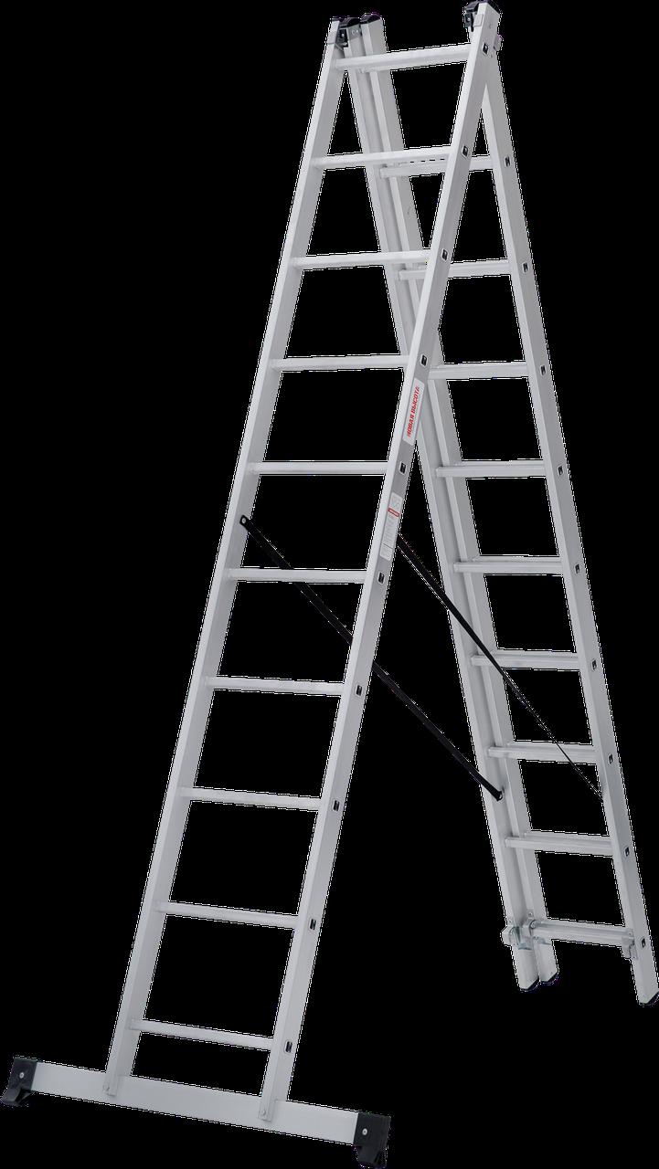 Лестница трехсекционная NV100, 3*10