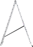 Лестница трехсекционная NV100, 3*12, фото 5