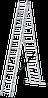 Лестница трехсекционная 3*12, фото 6