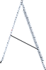 Лестница трехсекционная NV100, 3*12, фото 8