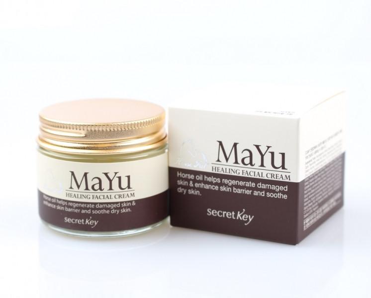 Secret Key Питательный Лечебный Крем для лица Mayu Healing Facial Cream  70гр.