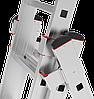 Лестница трехсекционная NV300, 3x17 усиленная, фото 2