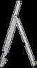 Лестница трехсекционная NV100, 3*7, фото 6