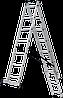 Лестница трехсекционная NV100, 3*7, фото 8
