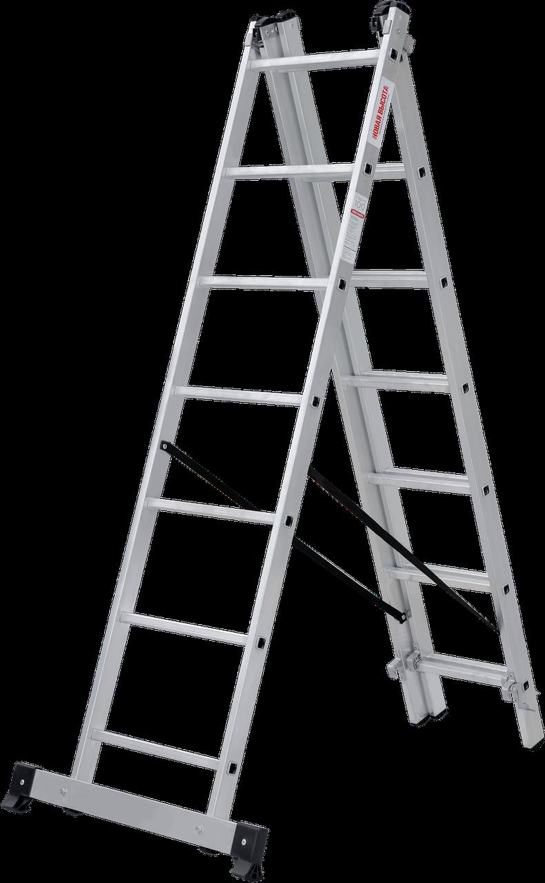 Лестница трехсекционная 3x8