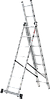 Лестница трехсекционная NV100, 3*8, фото 6