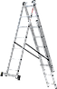 Лестница трехсекционная NV100, 3*8, фото 9