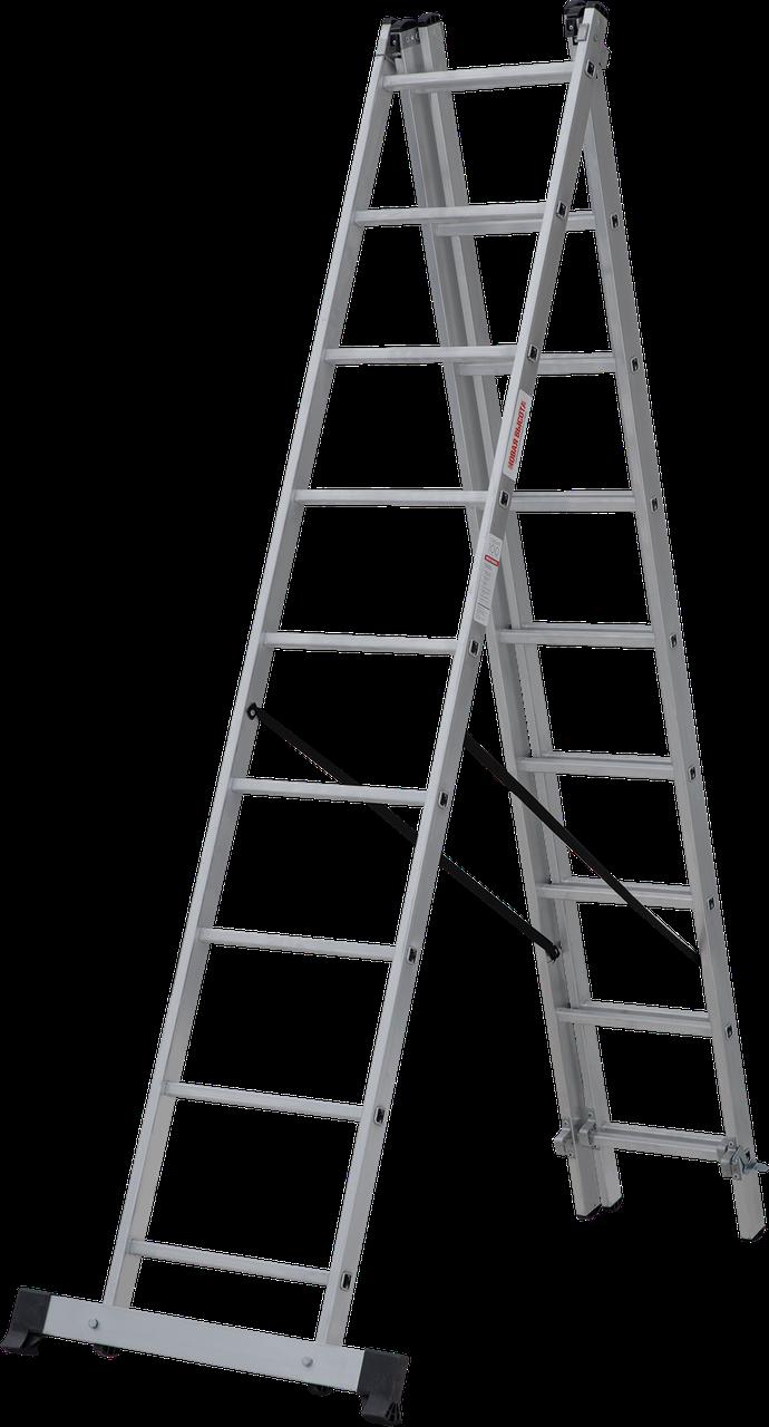 Лестница трехсекционная 3x9