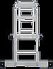Лестница-трансформер NV 100 4х3, (3,33 м), фото 4