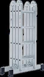 Лестница-трансформер NV 100 4х4, (4,37 м)