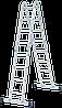 Лестница-трансформер NV 100 4х4, (4,37 м), фото 9