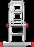 Лестница-трансформер NV 200 4х3, (3,43 м), фото 6