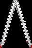Лестница-трансформер NV 200 4х5, (5,51 м), фото 5