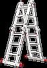 Лестница-трансформер NV 300 4х3, (3,46 м), фото 2