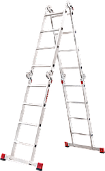 Лестница-трансформер NV 300 4х4, (4,5 м)