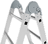 Лестница-трансформер NV 300 4х6, (6,42 м), фото 4