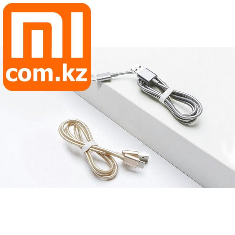 Кабель Xiaomi Mi USB to USB type-C cable, Gold, TPU +Aliminium. Оригинал. - фото 1