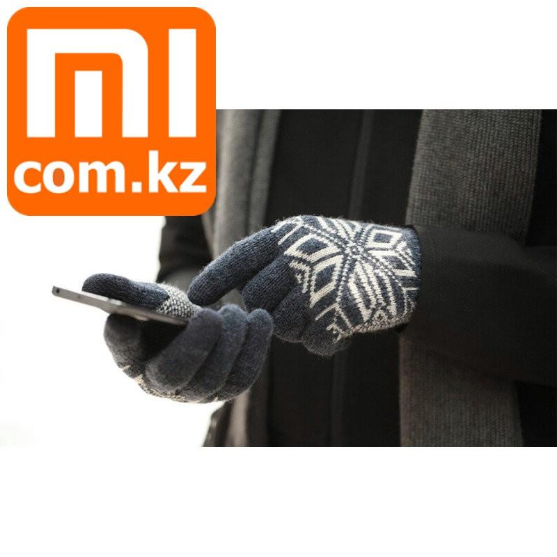 Перчатки для сенсорных экранов Xiaomi Mi Gloves, темно-серые. Оригинал.
