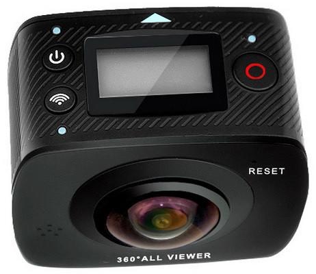 Основные кнопки управления и небольшой ЖК дисплей располагаются на верхней грани корпуса камеры