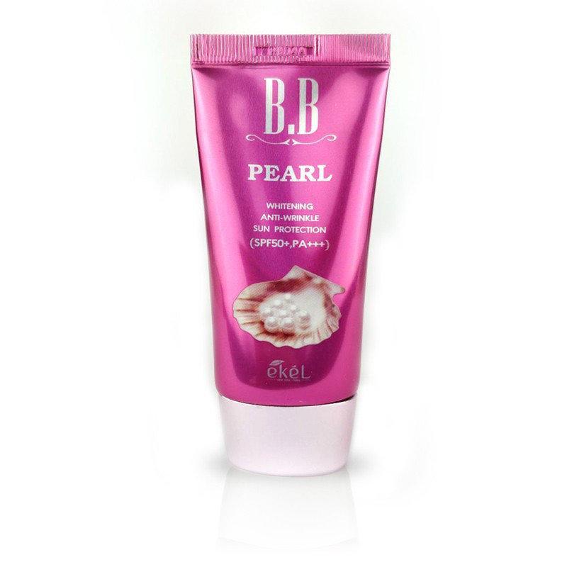 Ekel Pearl BB Cream SPF50+PA+++ Жемчужный ББ-крем 50мл.