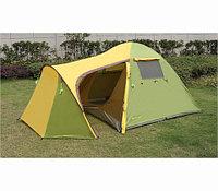 Палатка с тамбуром Chanodug FX-8953 [3-х местная, с водонепроницаемым покрытием]