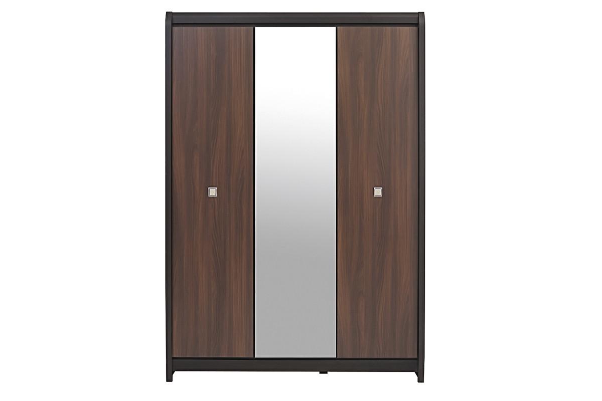Шкаф для одежды 3Д (Loren SZF3D), коллекции Лорен, Акация, BRW-Украина (Украина)