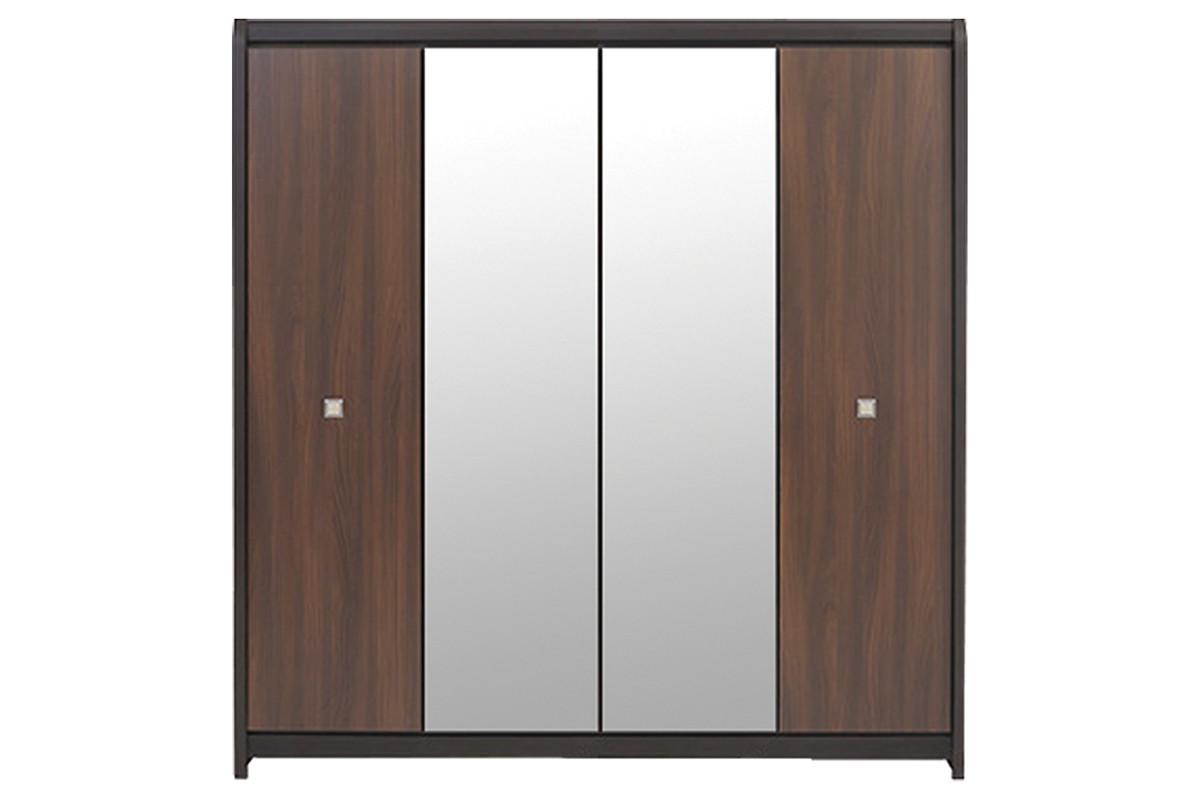 Шкаф для одежды 4Д  (Loren SZF4D), коллекции Лорен, Акация, BRW-Украина (Украина)