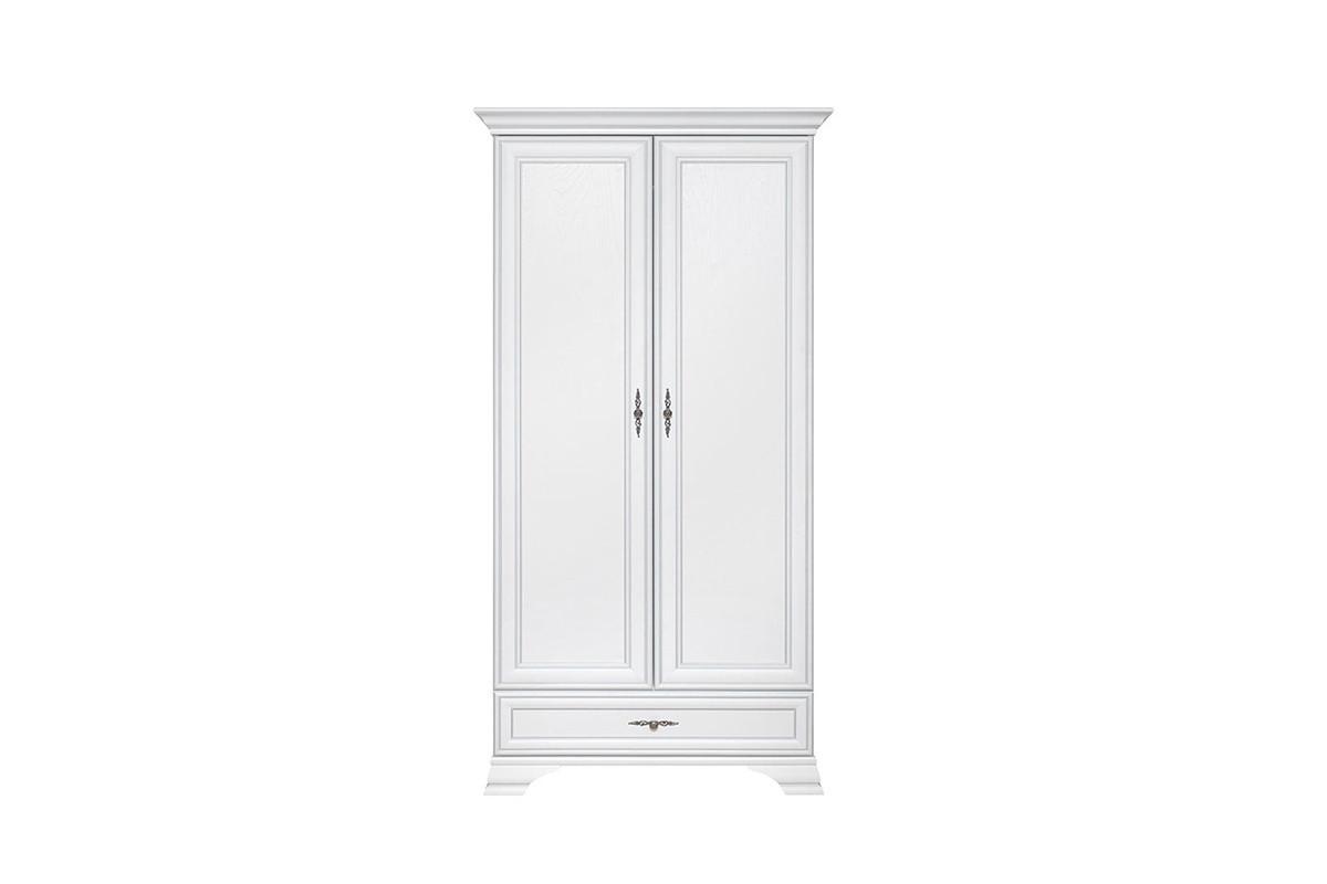 Шкаф для одежды 2Д (Kentaki SZF2D1S), коллекции Кентаки, Белый, BRW-Украина (Украина)