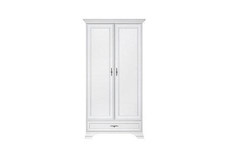 Шкаф для одежды 2Д (Kentaki SZF2D1S), коллекции Кентаки, Белый, BRW-Украина (Украина), фото 2