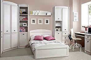 Шкаф для белья 3Д (Salerno REG3D3S), коллекции Салерно, Белый, Гербор (Украина), фото 2