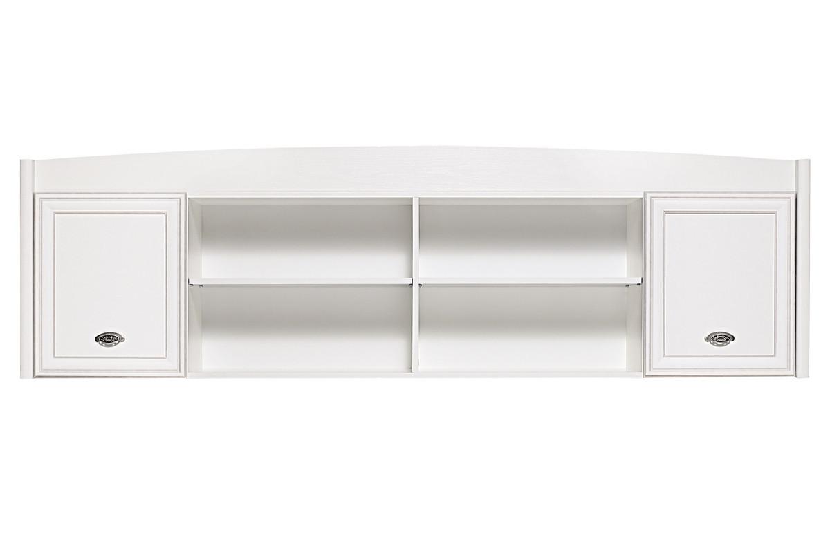 Шкаф для книг навесной 2Д (Salerno SFW2D), коллекции Салерно, Белый, Гербор (Украина)