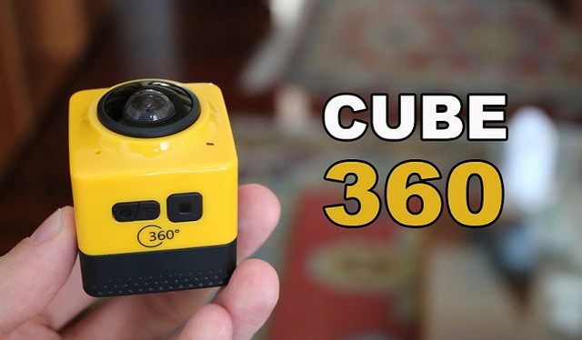 "HD камера 360° SITITEK Cube 360 станет вашим ""пропускным билетом"" в мир видео нового формата!"