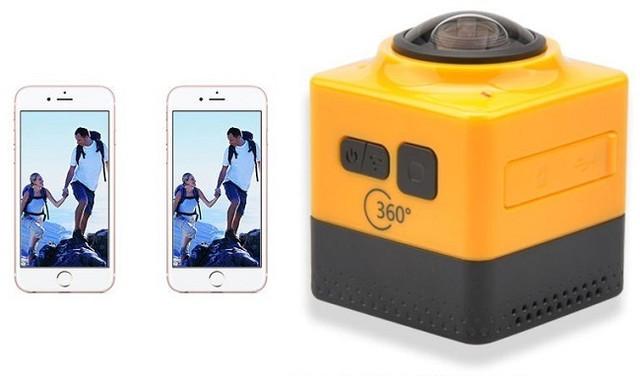 Камера может одновременно передавать сигнал и управляться с двух мобильных устройств, подключенных по сети Wi-Fi
