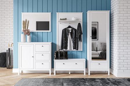 Комплект мебели для прихожей Хельга, Белый Белый, БРВ Брест(Беларусь), фото 2