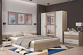 Комплект мебели для спальни Уют 1, Белый Белый, Горизонт(Россия)