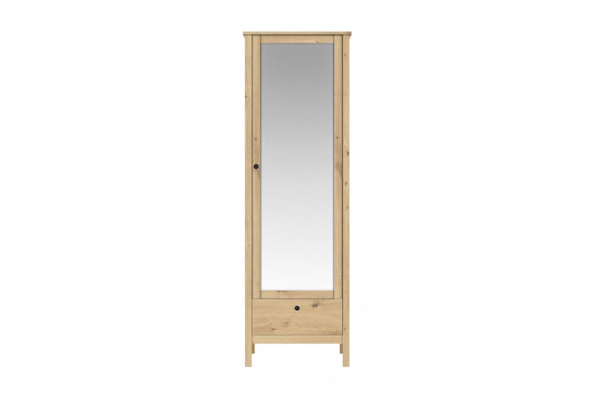 Шкаф для одежды 1Д , модульной системы Хельга, Дуб Артизан, БРВ Брест (Беларусь)