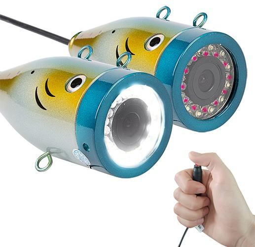 """Видеокамера для рыбалки """"SyanSpan F01"""": мощная подсветка на 24 светодиодах"""