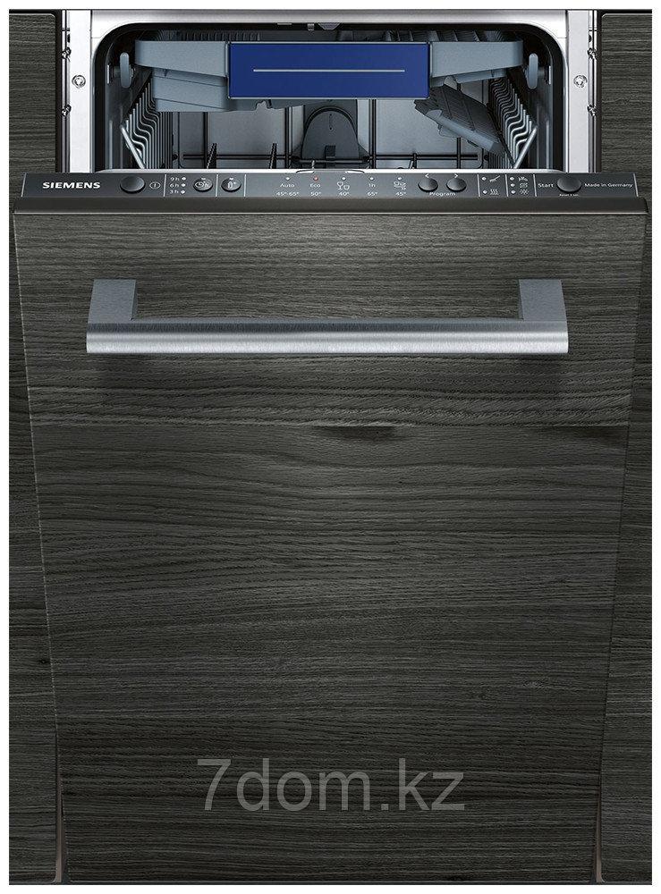 Встраиваемая посудомойка 45 см Siemens SR 615 X72NR