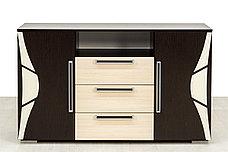 Комплект мебели для спальни Лагуна 5, Дуб Млечный, СВ Мебель(Россия), фото 3