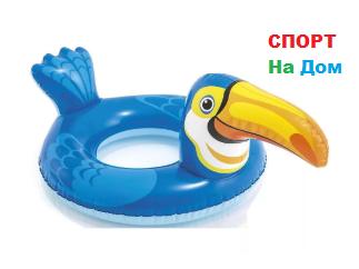 Надувной детский плавательный круг Пеликан Intex 58221 (89 см * 56 см)