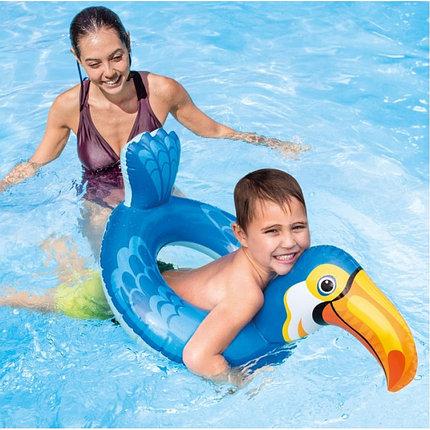 Надувной детский плавательный круг Пеликан Intex 58221 (89 см * 56 см), фото 2