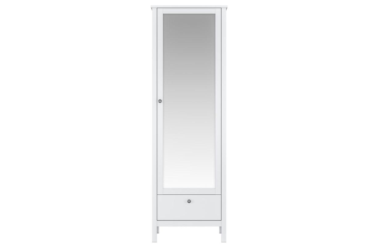 Шкаф для одежды 1Д , модульной системы Хельга, Белый Белый, БРВ Брест (Беларусь)
