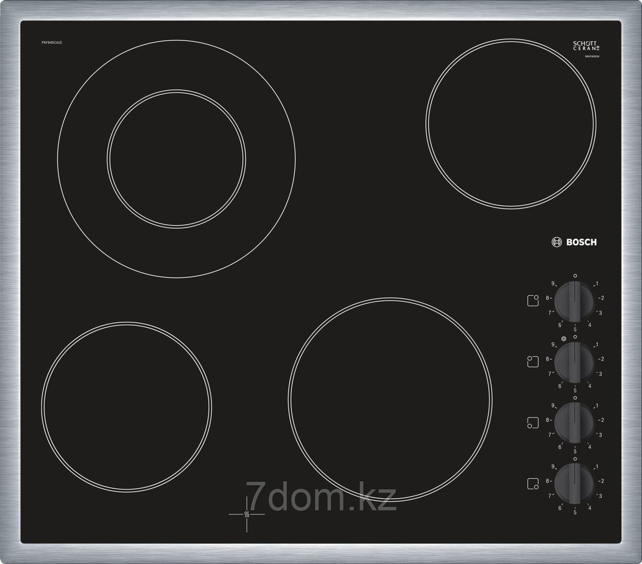 Встраиваемая поверхность керам. Bosch PKF 645 CA1E