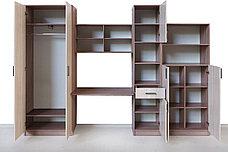 Шкаф для книг Неопределена 2Д  как часть комплекта Город, Ясень Шимо светлый, СВ Мебель (Россия), фото 3