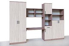 Комплект мебели для детской Город, Ясень Шимо светлый, СВ Мебель(Россия), фото 2